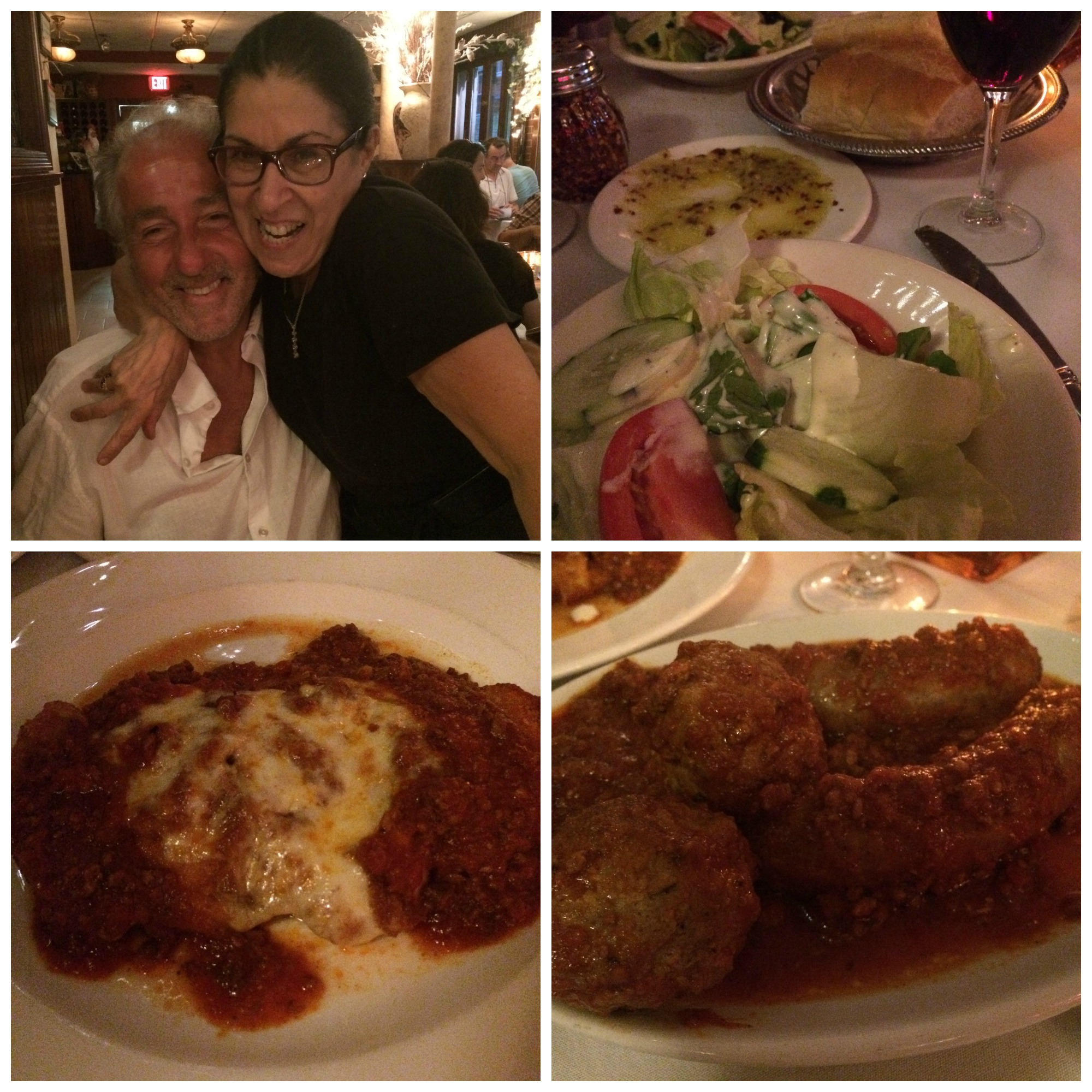 dinner at L'Osteria